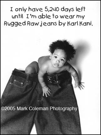 Oct 04, 2005 ©2005 Mark Coleman Photography Ad for Karl Kani Jeans