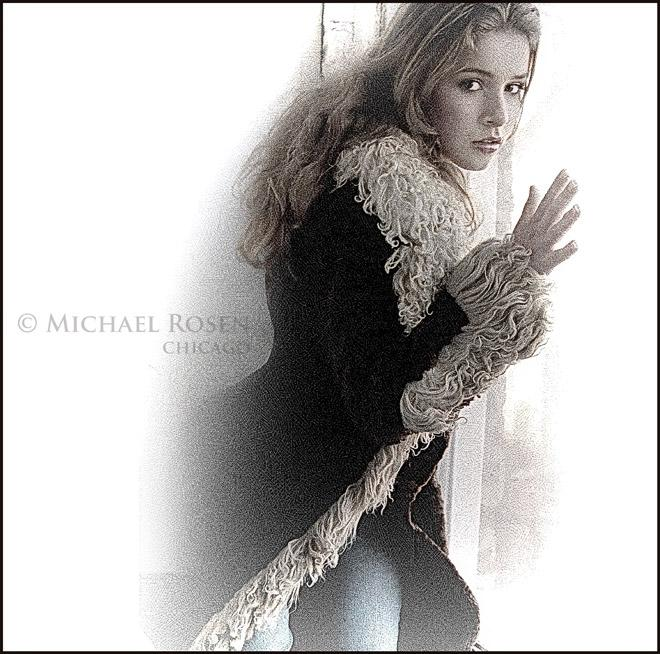 Chicago, IL; MUA Rachael Perrin Oct 12, 2005 Michael Rosen, 12-05 The true owner of the Golden Fleece - authentic Bonwit Teller vintage sheepskin coat