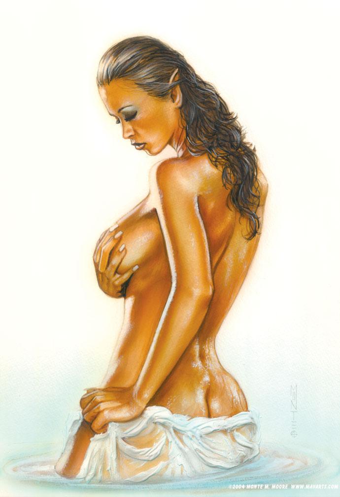 Oct 14, 2005 Monte Moore Fine Art illustration of Veronika Zemanova
