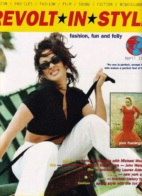 Revolt In Style April 1997 Oct 14, 2005 yes Playmate/Actress Rebecca Ferratti