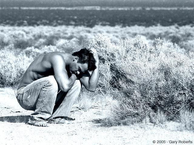 nevada Oct 20, 2005 gary robert depressed desert