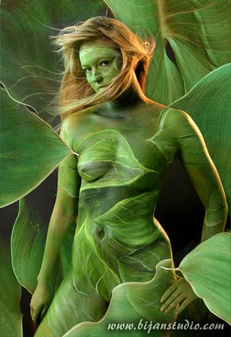Oct 21, 2005 Bijan Studio Another body painting by me. Background added digitally.