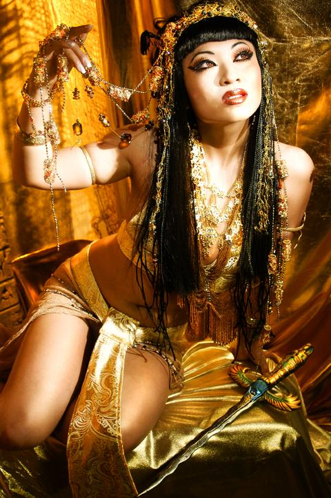 Santoni Studios Oct 27, 2005 2005 Dan Santoni Tribute to Cleopatra.  Model/Wardrobe design:Yaya   Hair/Styling:Michael Hall