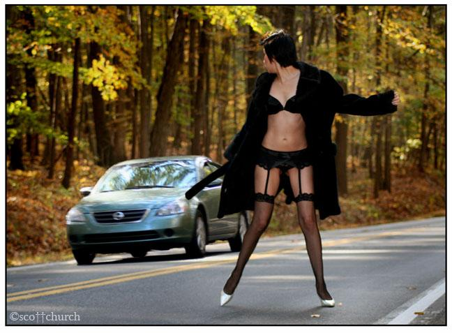Oct 30, 2005 ©sco††church mel playing in traffic