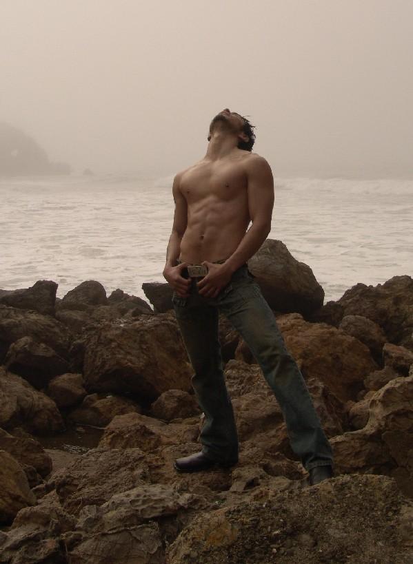 Male model photo shoot of Gio De Marco in San Francisco, CA