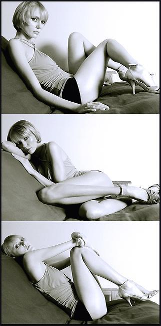 Male model photo shoot of Arturo Cantu in A futon at my apt