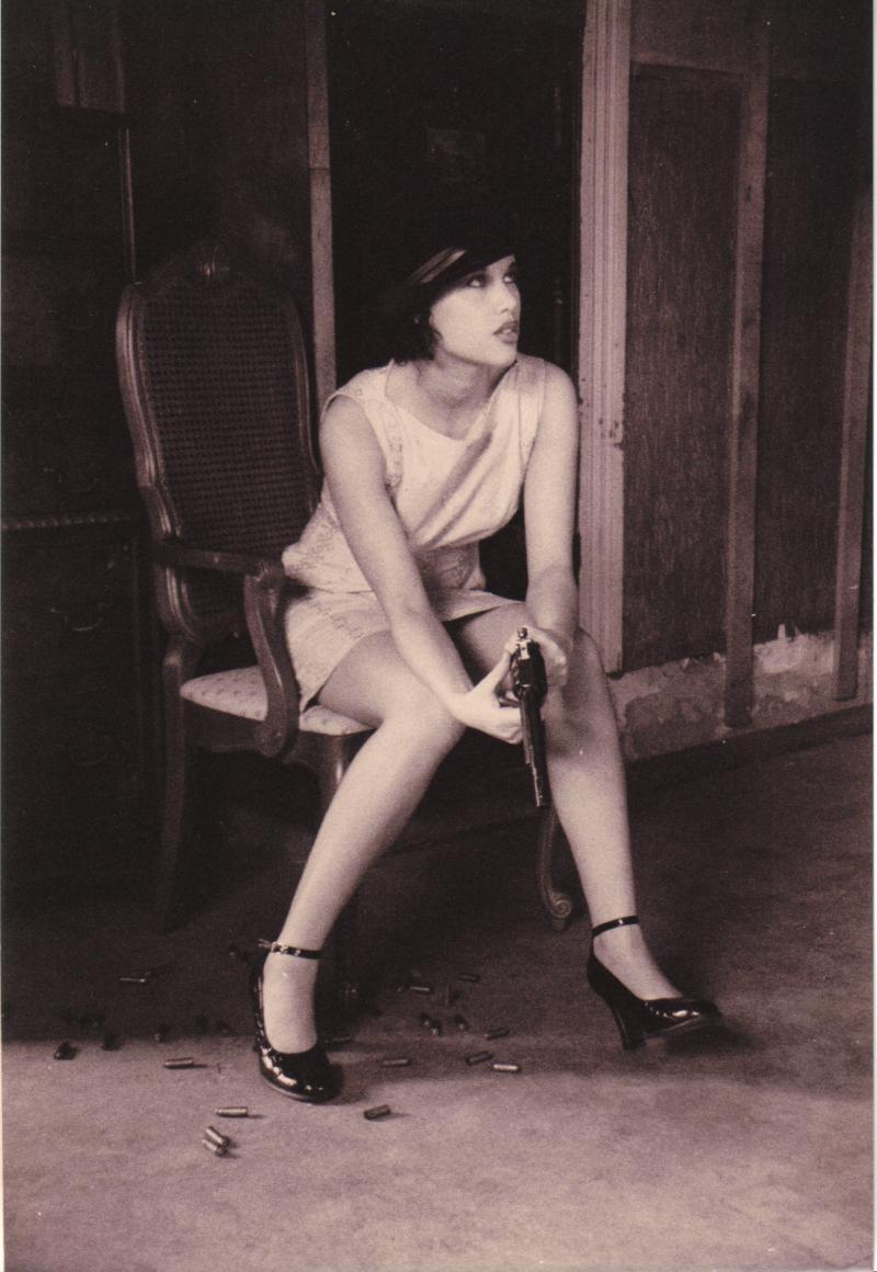 Female model photo shoot of Divine Katoure