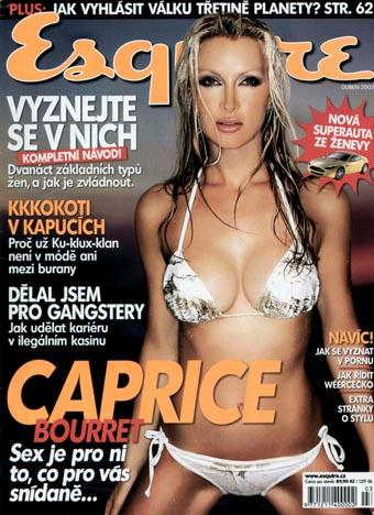 St Lucia Nov 09, 2005 Alan Strutt Esqire Cover of Caprice
