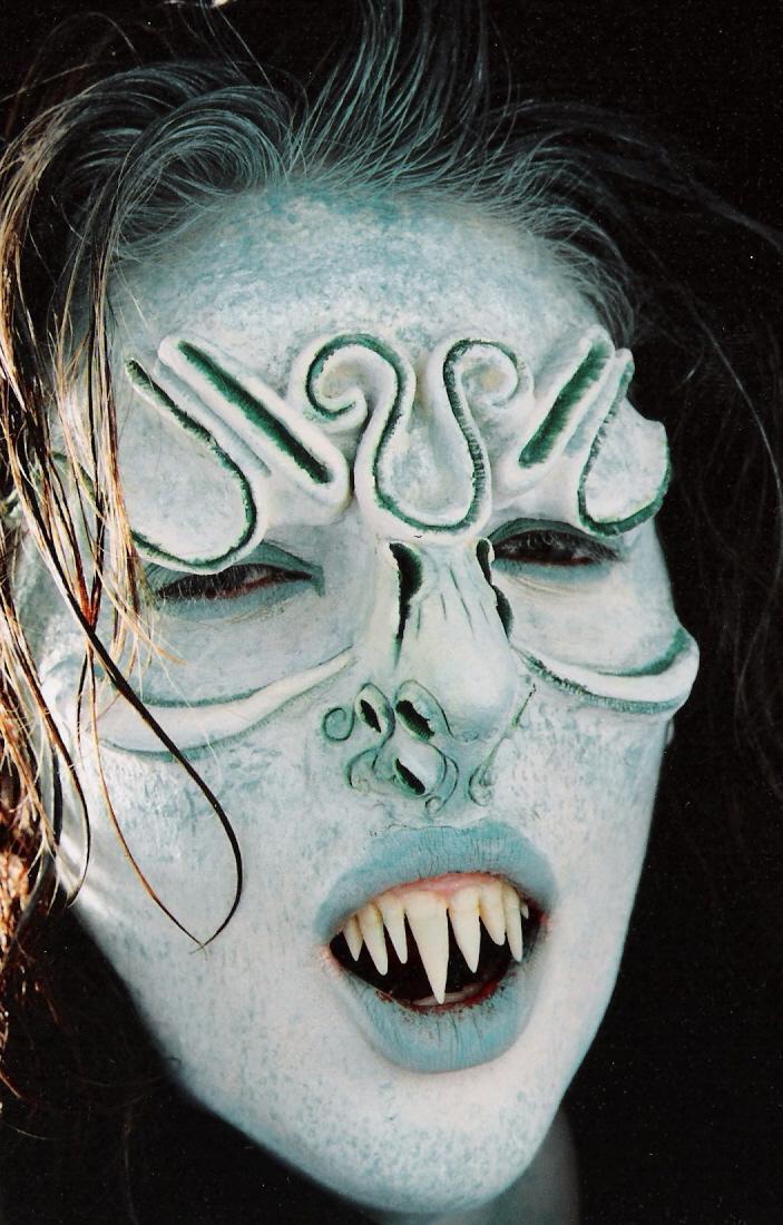Nov 12, 2005 Swamp Things Love Intrest Melissa (model) Fun Fact Custom latex prosthetic and teeth (#11)