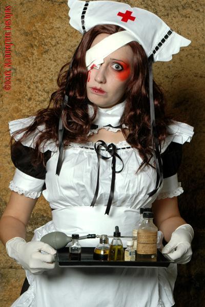 ACME Art - Columus, Ohio Nov 15, 2005 Dark Mannequin Designs The Nurse Broken