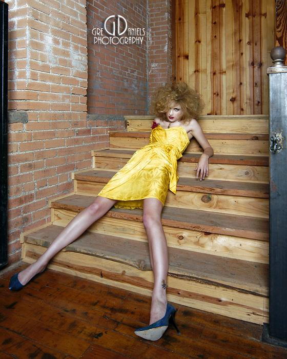 Nov 16, 2005 Greg Daniels OMP Showcase Image / Model:Reanna / Styling by Ivory Narvell / MUA-Faces by Briana / Hair Stylist Rubyredlocks