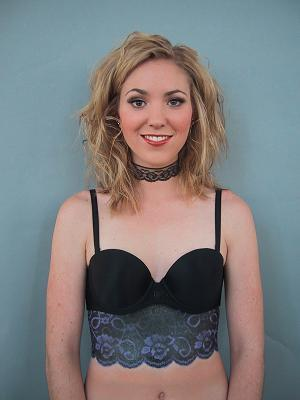 Female model photo shoot of Makeup Artist Kristen in Vancouver, BC