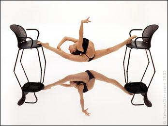 NYC Studio Dec 04, 2005 Howard Schatz From the Published Book Athletes