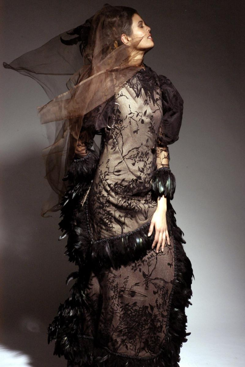 Hair and Fashion Styling - MH Dec 07, 2005 Graham Syed Sample Photo - Graham Syed.  MU- Joanne Lily. Designer - Neodandi.
