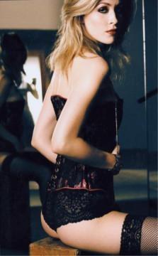 LA Dec 10, 2005 Rico M. Handmade corset photographed for LA Stylist
