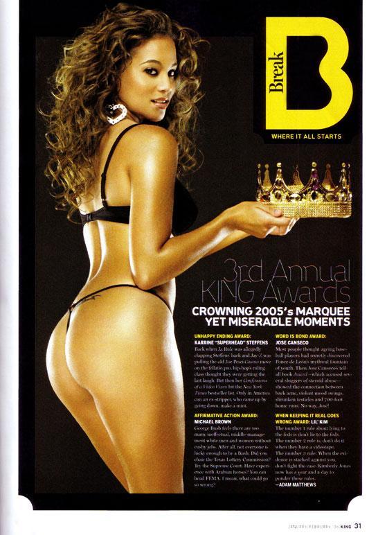 NYC Dec 14, 2005 Presenting King Awards King Magazine Jan/Feb Issue