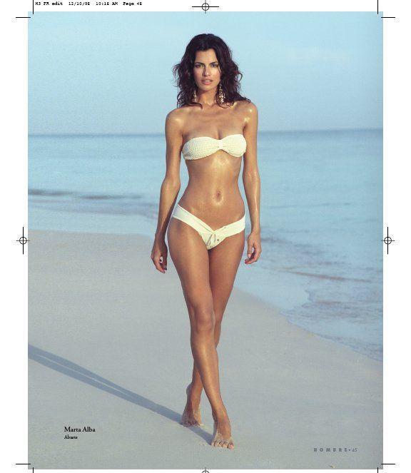Bahamas Dec 16, 2005 Hombre Publishing Group HOMBRE Bahamas Swimwear Editorial - Marta - by JF Cooper