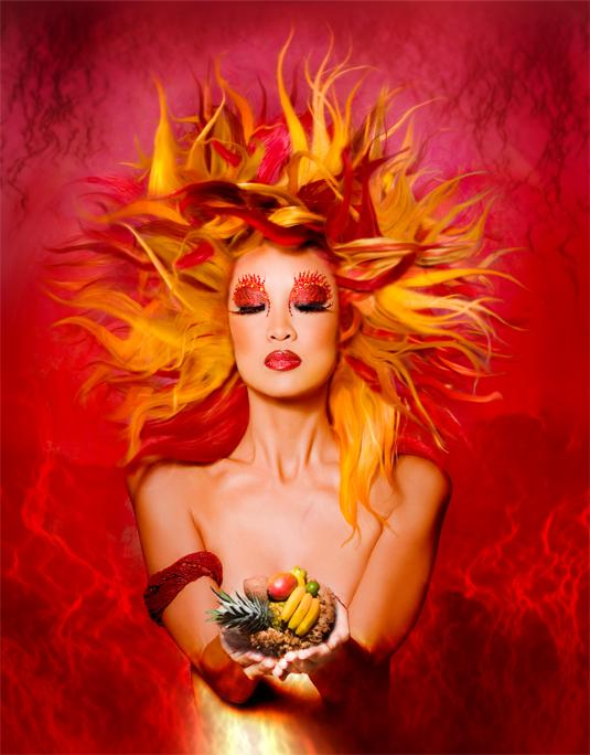 Los Angeles/Santa Clarita Jan 06, 2006 Suzette Troche-Stapp Newest version of Fire Goddess