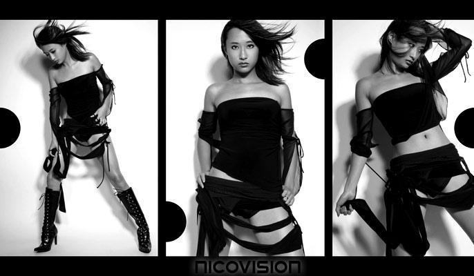 Female model photo shoot of TillyY in Studio