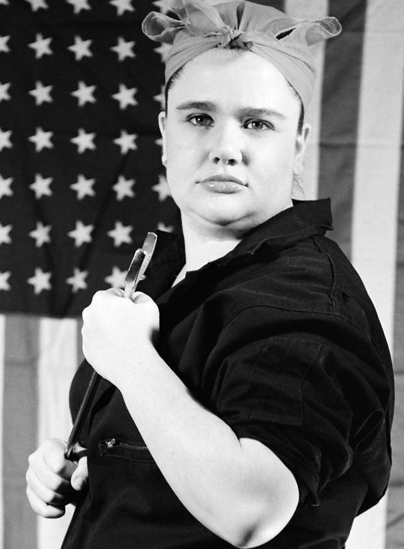 Grand Island, NE Jan 14, 2006 Doug Willson My Tribute to Rosie the Rivter