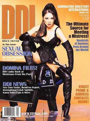 Los Angeles, CA Jan 19, 2006 DDI Magazine DDI Magazine Cover. Make up by Lisa Leming.