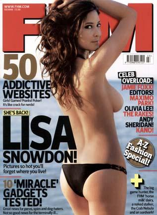Spain Jan 23, 2006 Alan Strutt Lisa Snowdon for FHM