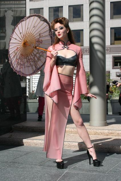 Union Square Feb 02, 2006 ASG Madame S Fashion Show