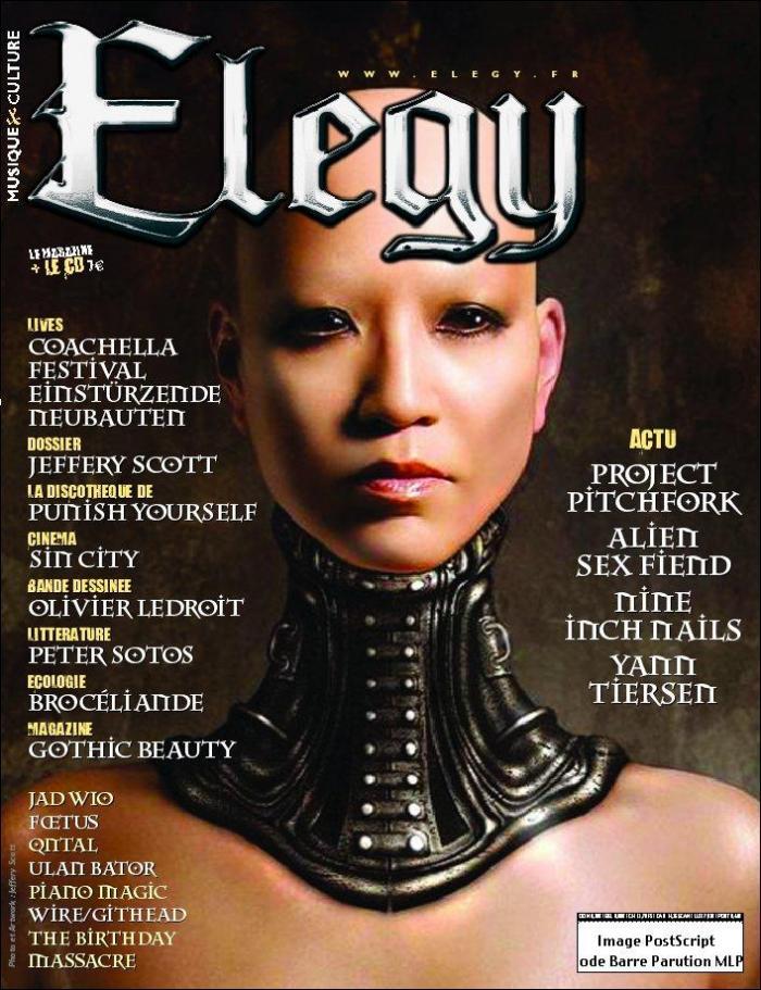 Feb 08, 2006 Jeffery Scott Cover of Elegy magazine (France, August 2005)