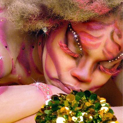 Atlanta Feb 11, 2006 Syntheonline/Averi Washington Sleeping Beauty (Body Paint by Synthe)