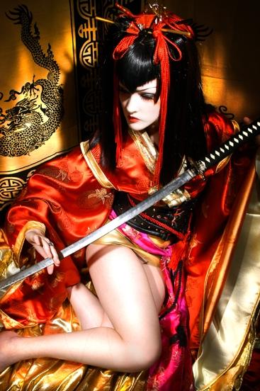 Studio Feb 13, 2006 Die, Melodie Gore, Dan Santoni [Shirow Masamune] Shirow Masamune Model: Melodie Gore Photo: Dan Santoni