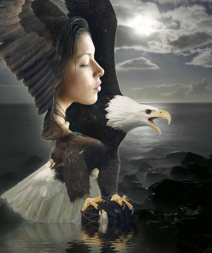 My back deck Feb 24, 2006 redinhawaii.com Eagle Spirit, my muse is Native American, with a dream spirit that is eagle