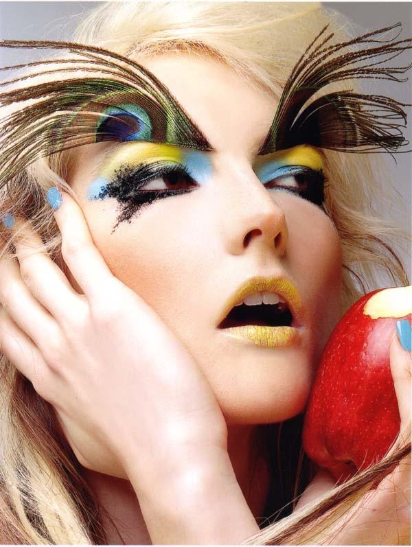 Feb 24, 2006 Photo by Seth Sabal, Makeup by Enrique Castillo.