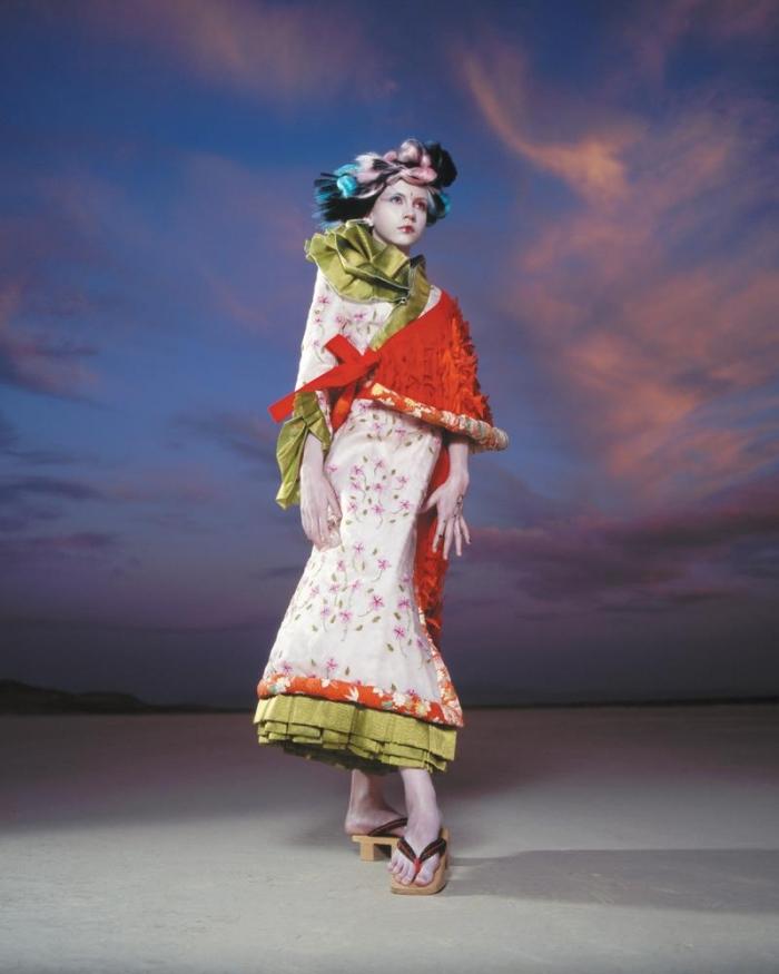 Mojave Desert, Ca Feb 24, 2006 Magazine Photoshoot with Ming