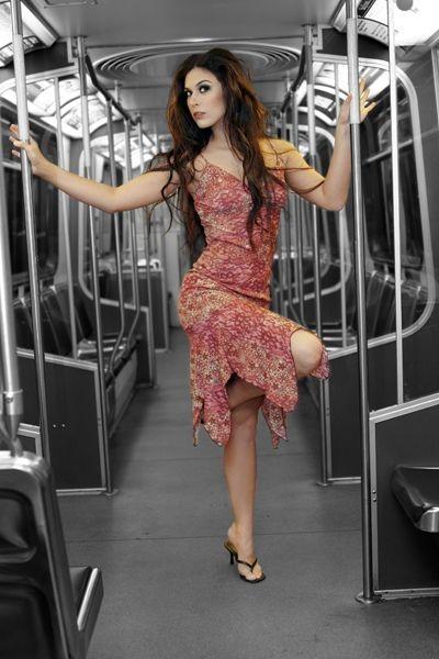 Feb 25, 2006 Limelight Photograhpy Standing Pretty on the Skytrain