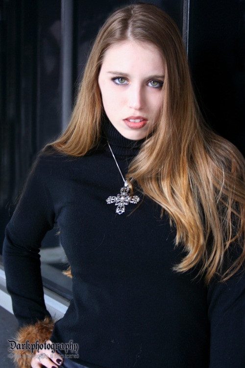 Female model photo shoot of Stacey Lauraine in Downtown LA