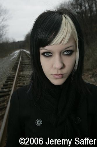 Male model photo shoot of Jeremy Saffer in Traintracks