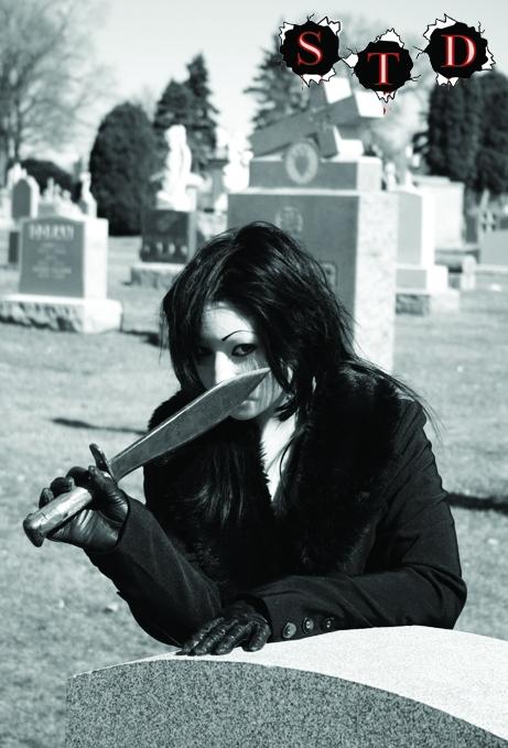 Male model photo shoot of Lost Soul in Mt Carmel Cemetary