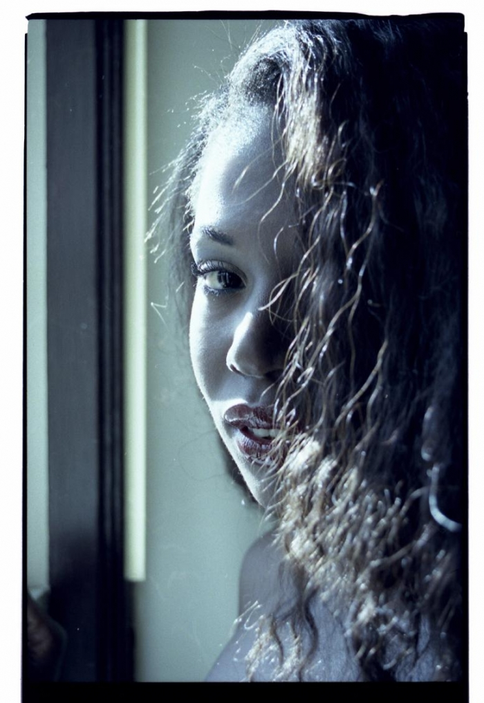 Female model photo shoot of DeniseMilfort in Screaming Eagle Studios
