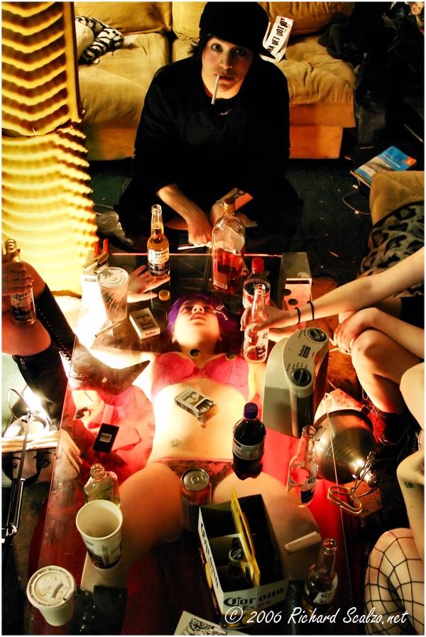 Brooklyn, NY Mar 27, 2006 @2006 Richard Scalzo At the Party