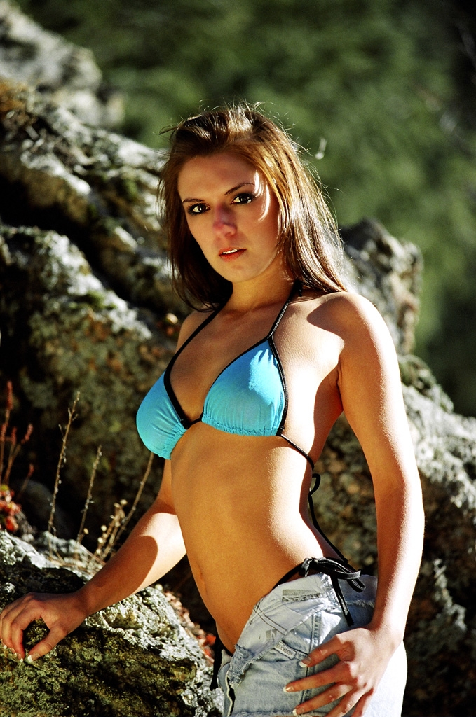 Colorado mountains Apr 01, 2006 SharpShooter Images Model Kristy    (the best)