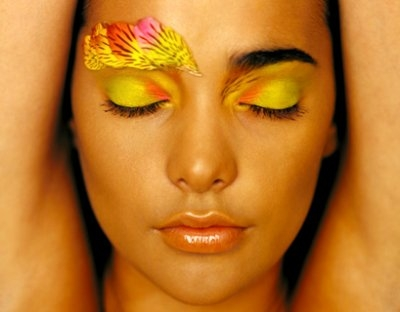 Miami (florida) Apr 03, 2006 makeup by olivia senghor NATHALIE BEAUTY SHOT FOR CULTURE BLOOM