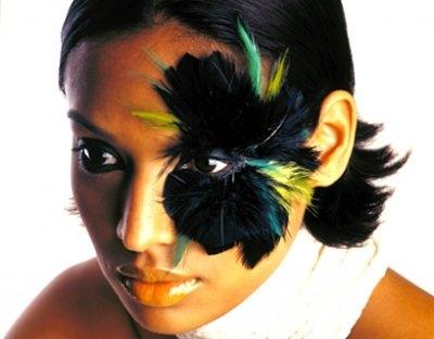 Miami (florida) Apr 03, 2006 Makeup by olivia senghor KAMINNI BEAUTY SHOT FOR CULTURE BLOOM