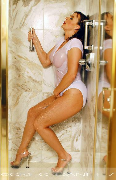 Female model photo shoot of Julie Montana by Greg Daniels in Texas