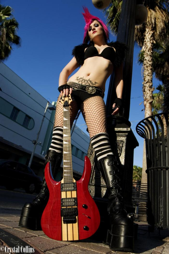 Ybor City, Florida Apr 27, 2006 Shoot for Halo Guitars by the fabulous Crystal Collins