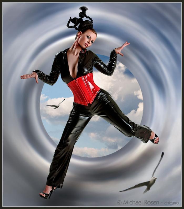 Studio 306 Apr 30, 2006 2006 Michael Rosen Flying - Hair by Rukey & Makeup by Mark Schmudde