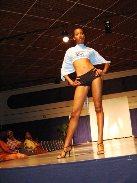 May 03, 2006 On Stage at The Metamorphosis Fashion Show