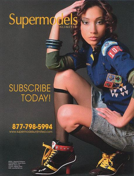 May 11, 2006 Steve Azzara Supermodels Unlimited Tearsheet (April, 2006)