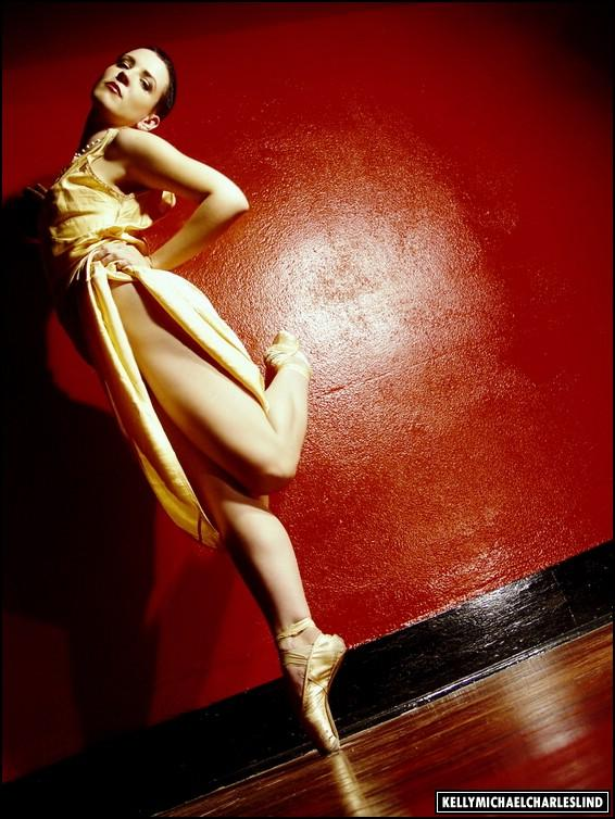 Los Angeles May 15, 2006 Kelly Michael Charles Lind 2004 / Alex La Marsh (make-up) I love my pointe shoes...