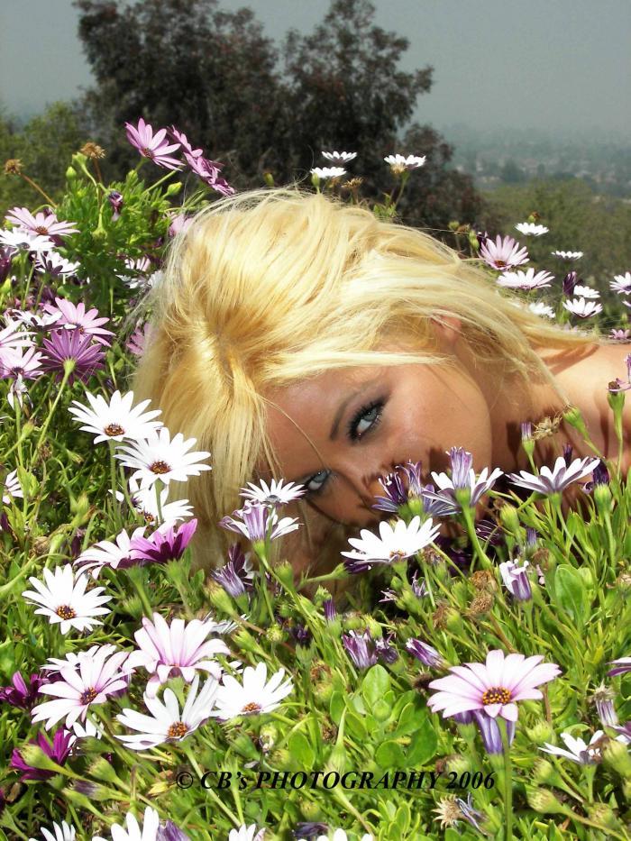 Inland Empire California May 16, 2006 CBs Photography 2006 Jeska Amongst the Flowers