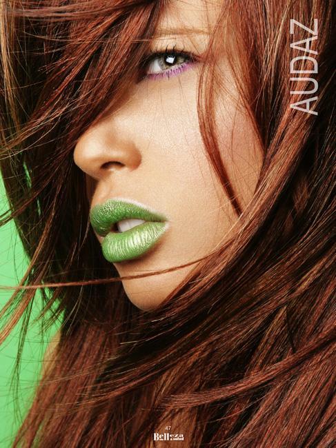 P.R Jun 20, 2006 Guilliani Beauty editorial for Belleza y Salud Magazine